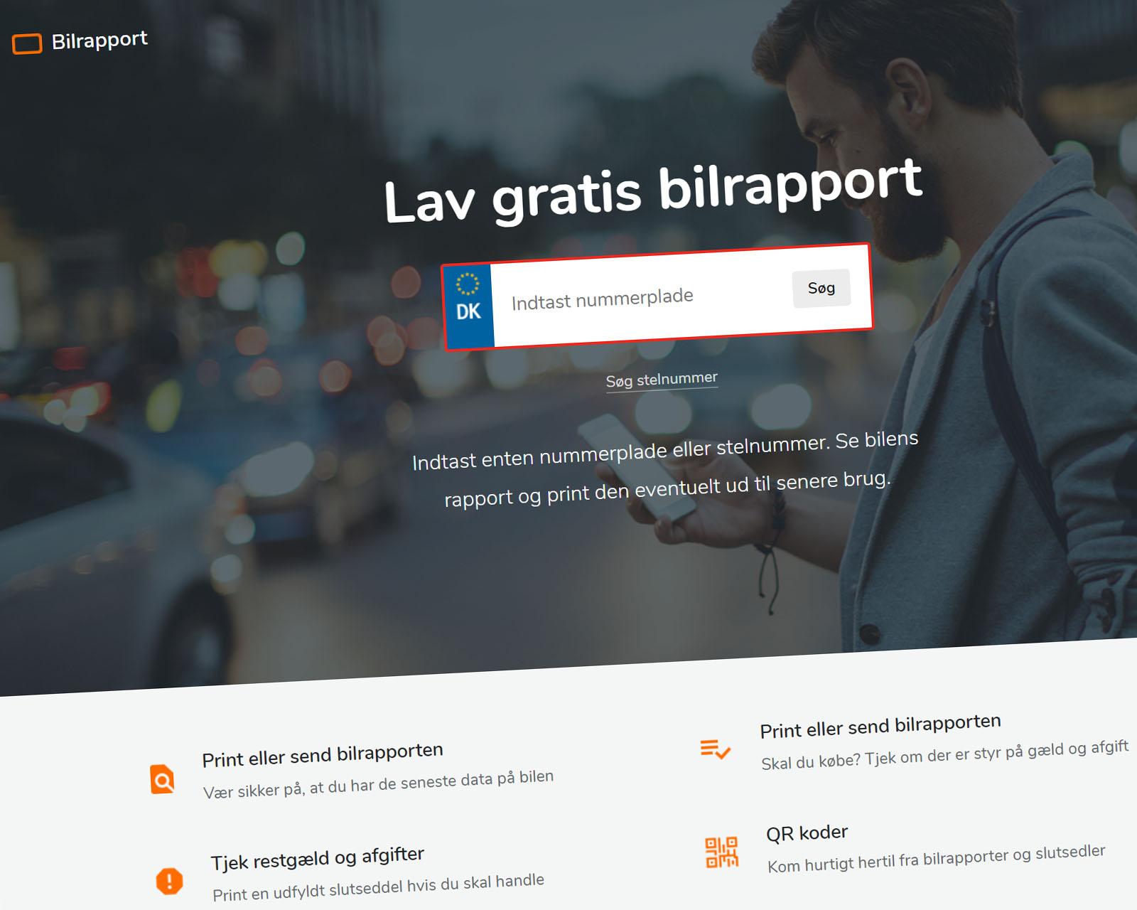 Bilrapport.dk