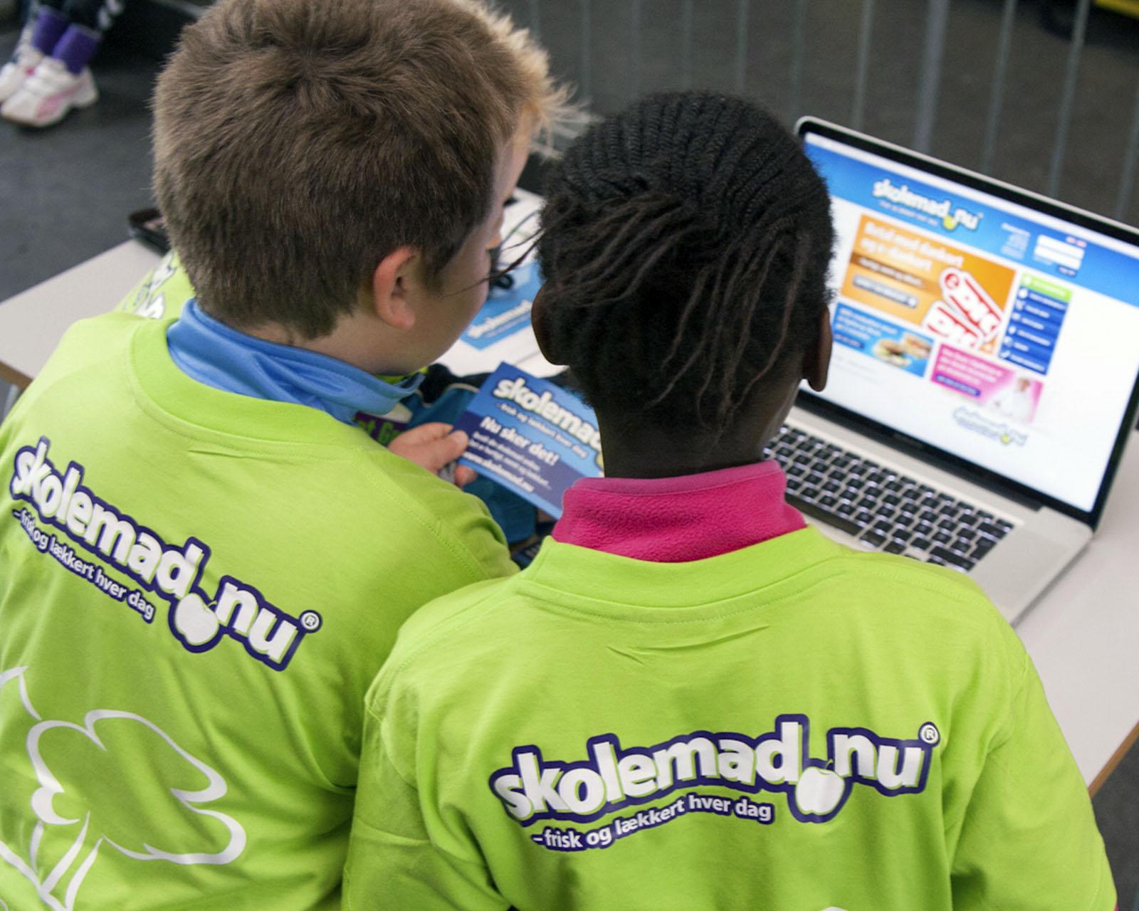 Skolemad.nu, børn og computer